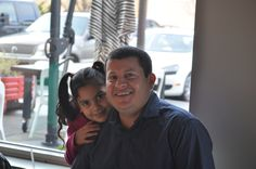 Gonzalo and daughter.