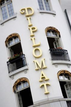 Hotel Diplomat Stockholm - staying here on my birthday!!