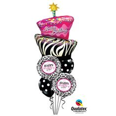 helium balloon bouquets - Google Search