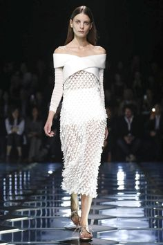 Balenciaga Ready To Wear Spring Summer 2015 Paris...Beautiful details to recreate. Get that designer look without the designer $$$, have it custom-made.Pick 1 or 2 details to design that unique look.