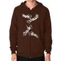 Fashions Awesomeaunt Zip Hoodie (on man)