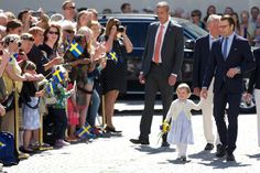 Pin for Later: Princess Estelle of Sweden's First Royal Appearance Couldn't Have Been Cuter
