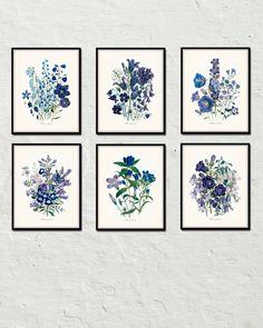 Fleurs De Jardin Blu