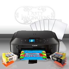 Edible Printer Bundle for Canon - Comes with Edible Ink Cartridges and Frosting Sheets - Apprentice Package *** Unbelievable product is here! : Baking tools