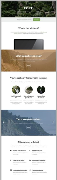 Fore - Free HTML Responsive Template