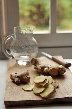 fresh ginger syrup recipe by David Lebovitz, via Flickr