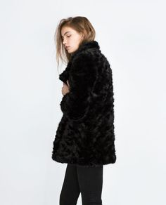 Image 3 of FAUX FUR COAT from Zara