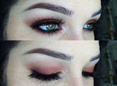 gorgeous eye makeup. wish i could find the tutorial