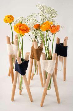 Пробирка на ножках / Арт-объекты / Модный сайт о стильной переделке одежды и интерьера