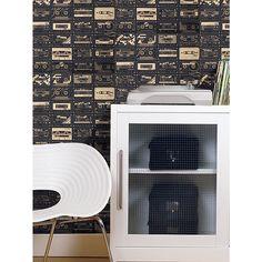 Buy Mini Moderns C-60 Wallpaper   John Lewis