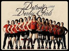 Awesome Team Pic - Detroit Derby Girls by Andy Tanguay Team Pictures, Team Photos, Sports Pictures, Softball Pictures, Roller Derby Girls, Team Photography, Detroit, First Girl, Quad
