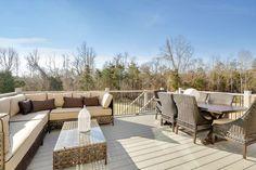 #carey #modehome #outside #deck #sunshine