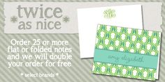 Awesome stationery from Printswell... on sale now!