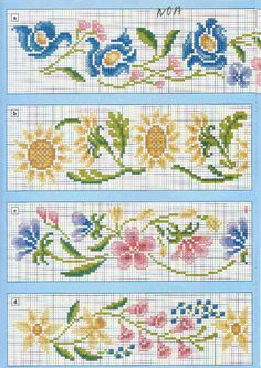 floral borders
