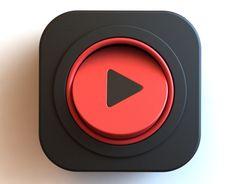 다음 @Behance 프로젝트 확인: \u201cVideo App Icon\u201d https://www.behance.net/gallery/46913603/Video-App-Icon