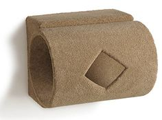 Hanging Wall Mounted Cat Tubular Hideaway Brown -- You can find out more details at the link of the image.
