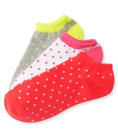 3-Pack Lil' Dot Ped Socks