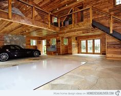 This is my dream garage! Add in a two-post lift and a workshop attached then it's perfect!!!