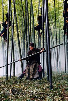 Zhang Ziyi in House of Flying Daggers