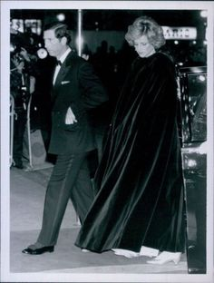 Vint 1985 Princess Diana Prince Charles A Passage to India London Premiere Photo | eBay