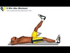 Zategnite svoj struk i vežbajte abdomen. Ukoliko ste puniji, pre ovih vežbi smanjite procenat potkoznog masnog tkiva (sala), 6 minuta svakog dana: http://www...
