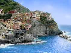 Image discovered by Find images and videos about italy, cinque terre and italian landscape on We Heart It - the app to get lost in what you love. Oh The Places You'll Go, Places To Travel, Places To Visit, Positano, Wonderful Places, Beautiful Places, Portugal, Boat Rental, Visit Italy