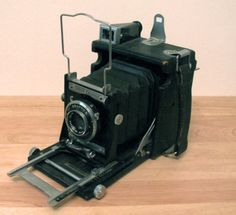 Vintage Camera  Graflex 2x3 Miniature Speed by vintagexposure, $300.00