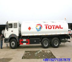 NORTH BENZ 6x4 road tanker with full tank trailer ...