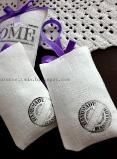 drabmelinda : Levendulás zsákocskák Cufflinks, Blog, Diy, Crafts, Accessories, Manualidades, Bricolage, Blogging, Do It Yourself