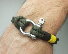 Men's Bracelet Nautical Sailing Bracelet Stainless by ZEcollection