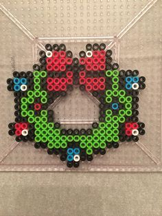 Easy DIY Christmas Perler Bead Ornaments – For Parents,Teachers, Scout Leaders & Really Just Everyone! Perler Bead Ornaments Pattern, Perler Bead Templates, Diy Perler Beads, Perler Bead Art, Melty Bead Patterns, Pearler Bead Patterns, Bead Crochet Patterns, Beading Patterns, Loom Patterns