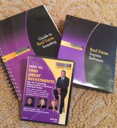 RICH DAD Education Series-Guide, Software,DVD/ Real Estate Career