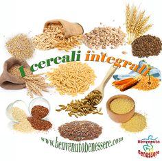 I cereali integrali alleati della salute - BENVENUTO BENESSERE