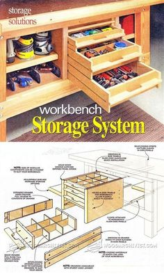 Build Modular Workbench Storage - Workshop Solutions Projects, Tips and Tricks | WoodArchivist.com