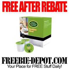 FREE AFTER REBATE – K-Cups 18 Count - Exp 8/4/14 - $12.50 Value