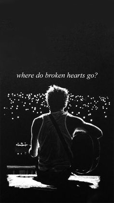 where do broken hearts go?