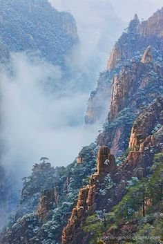 West Sea Valley - Mount Huangshan, China