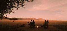 Campfire chill at Private Camp
