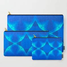 Bluefull Interlockings Carry-All Pouch