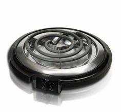MaxiMatic ESB-300X Elite Cuisine 750-Watt Single-Burner Electric Hot Plate, Black: Kitchen & Dining: Amazon.com