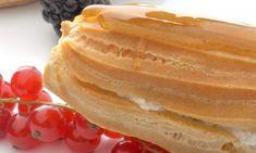 CHFF KARLOS ARGUIÑANO .-  Receta de Relámpagos con crema de plátano y baño de caramelo  .-   http://www.hogarmania.com/cocina/recetas/postres/200511/relampagos-crema-platano-bano-caramelo-1767.html