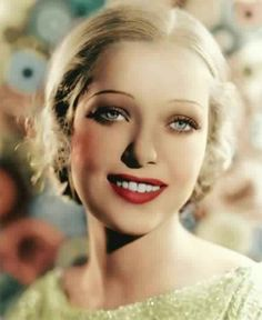 Loretta Young, was beautiful even as a blonde!