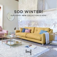 Winter probably won't go away for a while, so we thought we'd console you with our cracking NEW collection of cabinetry, sofas and beds. Dive in!