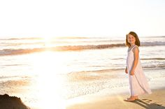 family portrait session at the beach in san diego