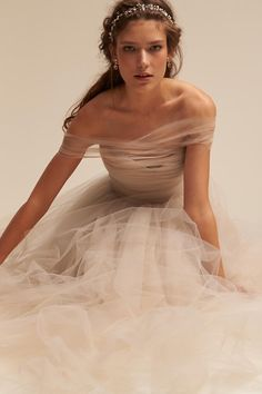 Champagne Ramona Gown | BHLDN