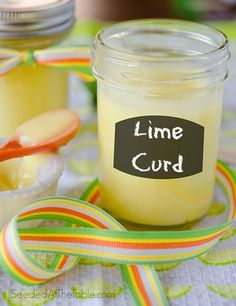 Lime Curd - So easy to make and so many ways to use it! (Pie filling, cake filling, spread over toast or scones, give as a gift, eat by the spoonful, etc.)