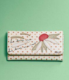 Relic Takeaway Checkbook Wallet - Spring 2015