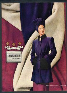 1944 Purple Coat
