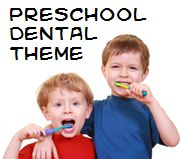 Dental and Tooth Theme and Activities for Preschool (perfect for February, which is National Children's Dental Health Month)