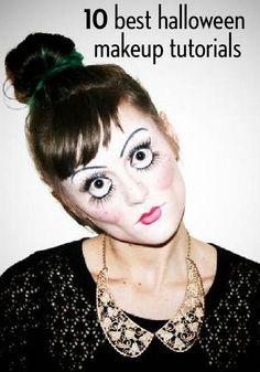 The best halloween makeup tutorials...